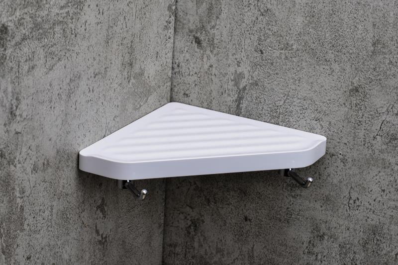 8096W三角置物架(帶鉤)